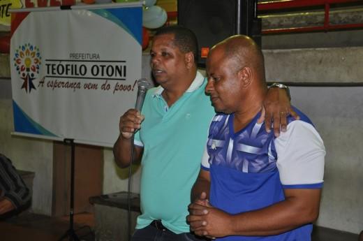 O diretor de Esporte, Tenente Bahia elogiou o trabalho realizado por Rogério Araújo pelo esporte da cidade