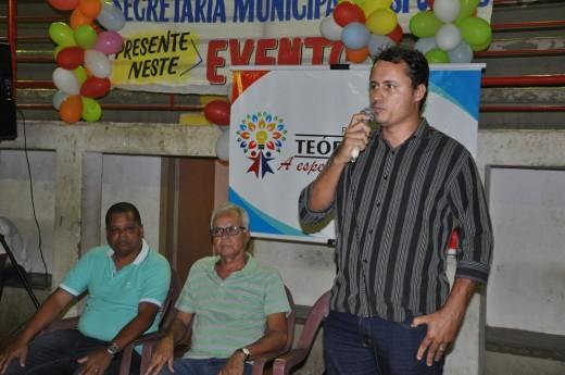 O secretário de Esporte, Jhon Isleno destacou o compromisso da atual administração com o esporte da cidade