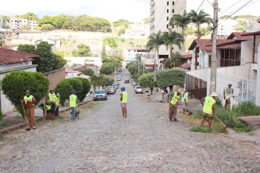 limpeza em diversos bairros no marajoara