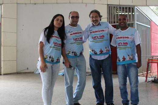 Equipe organizadora do Dia Mundial da Saúde