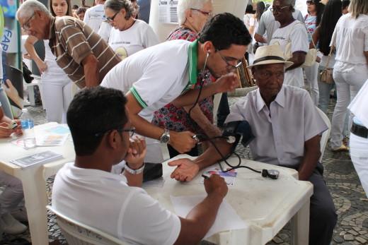 José Cecílio dos Santos, aos 88 anos, afirma está com a saúde em dia