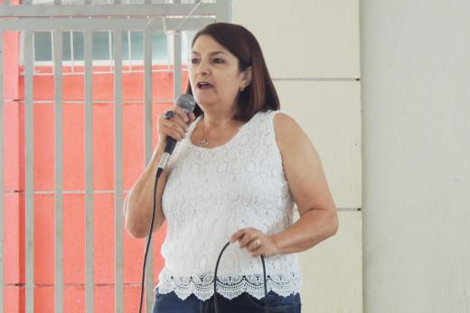 Maria Antônia Xavier presidente da Associação dos Artesãos de Teófilo Otoni