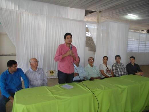 Daniel disse que em sua gestão não medirá esforços para buscar o crescimento da agricultura e pecuária na nossa região