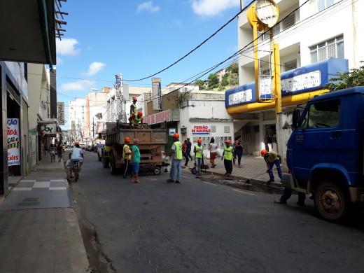 Rua Epaminondas Otoni (Centro)