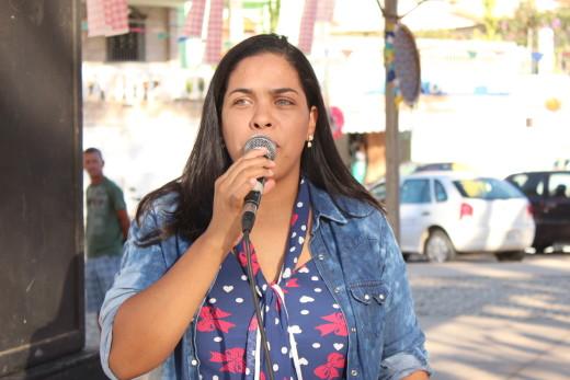 Durante o evento, a coordenadora do Centro POP, Aivy Ann, salientou a igualdade de oportunidades para todos