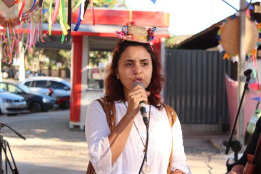 Eliane Aguilar, destacou o amor e carinho com os atendidos do Centro POP