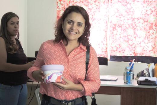 Eliane Aguilar, ressaltou a importância da parceria entre o Sesc e o Centro POP