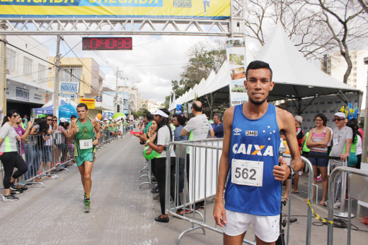 O carioca Marcos Vinicius Coelho faturou o primeiro lugar na categoria geral