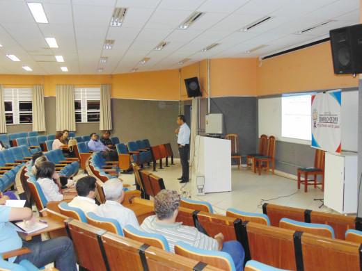 O objetivo do Seminário foi de explanar um pouco sobre a importância do planejamento orçamentário dos municípios
