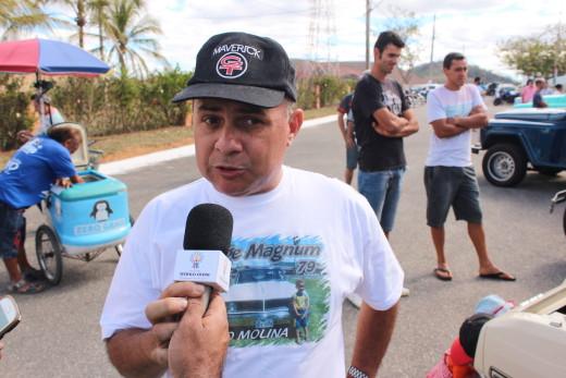 Tárcio Molina, disse que como expositor se sentiu honrado em participar da festividade