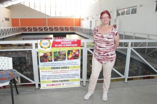 Andréa Ribeiro foi uma das participantes e disse que o curso foi um grande aprendizado para a vida