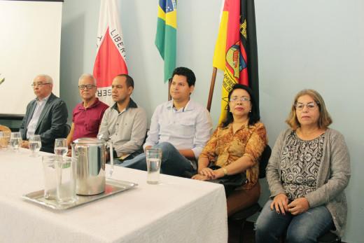 O curso contou com a palestra de pesquisadores e educadores de história e geografia da região do Mucuri
