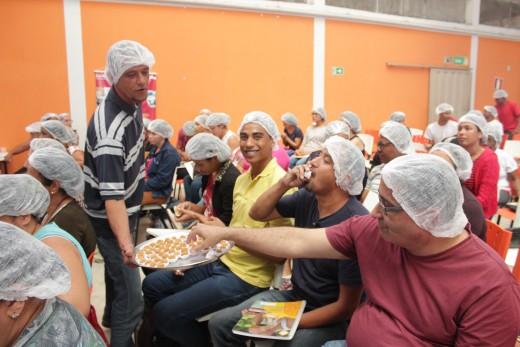 O objetivo do curso foi promover a educação alimentar