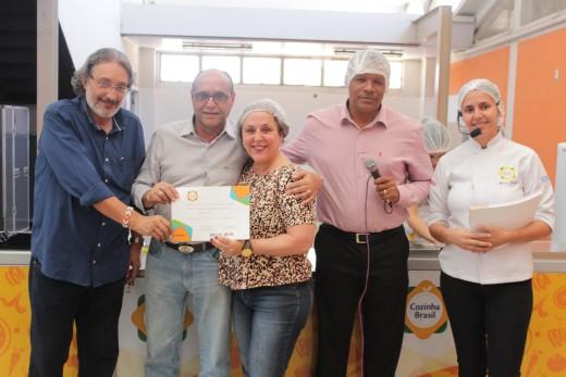 Todos os participantes que seguiram o cronograma dos três dias, receberam o certificado de conclusão do curso