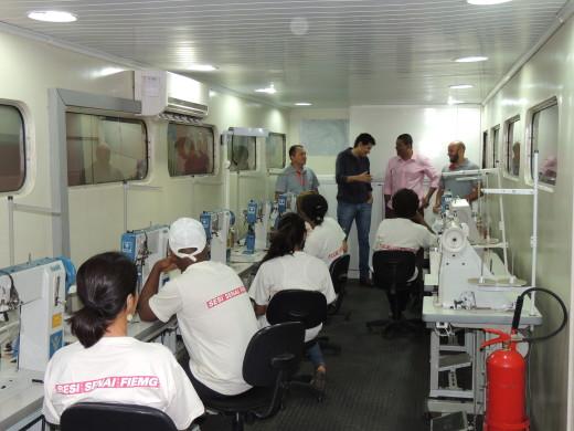 O curso tem a capacidade de atender 24 participantes nos períodos da manhã e tarde