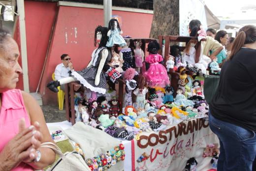 O evento contou com mostra de artesanatos, cortes de cabelo, oficinas, dança e premiação
