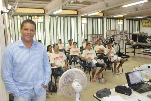 Jonas Boa Ventura ressaltou que os mini cursos irão promover a geração de renda e qualificar mão de obra para o mercado de trabalho