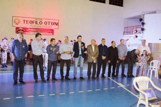 Lançamento da campanha Natal Solidário reuniu autoridades e entidades parceiras